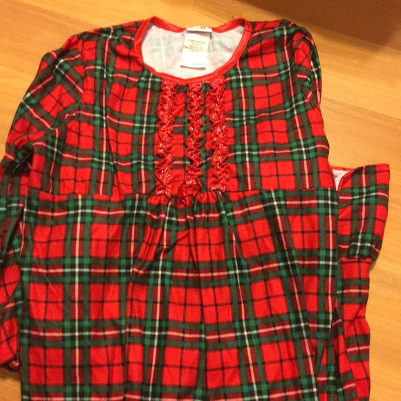 Pajamas | Long Sleeve Girls Flannel Gown | Poshmark